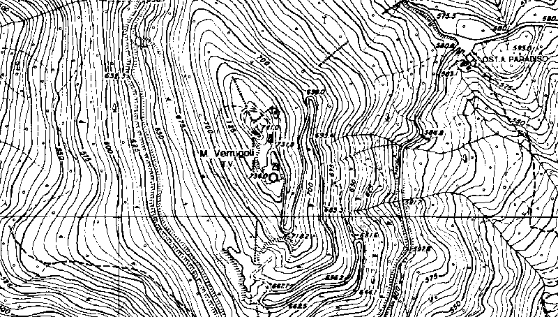 Cartina Altimetrica Sardegna.La Quota Nelle Misure Topografiche Ed In Cartografia
