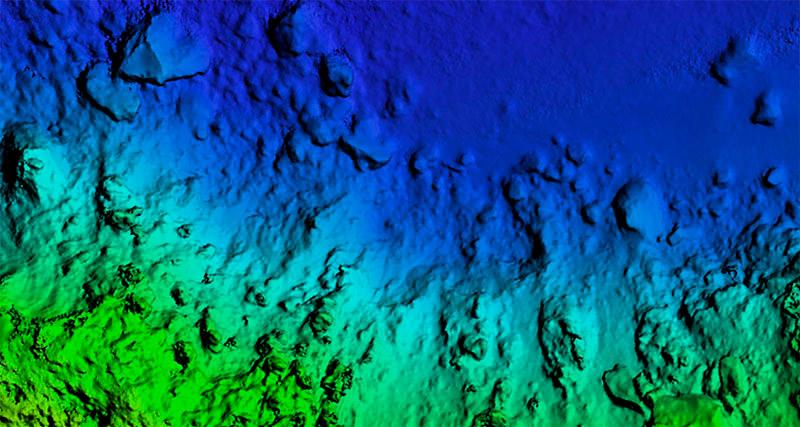 Immagine di un DSM Digital Surface Model
