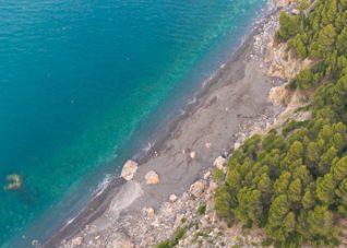 Fotografia aerea da drone