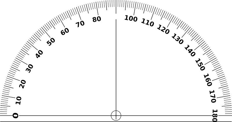 immagine di un goniometro