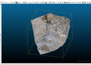 Immagine che rappresenta uno screenshot del software cloud compare