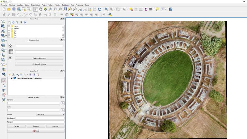 Georeferenziare un'immagine con QGIS
