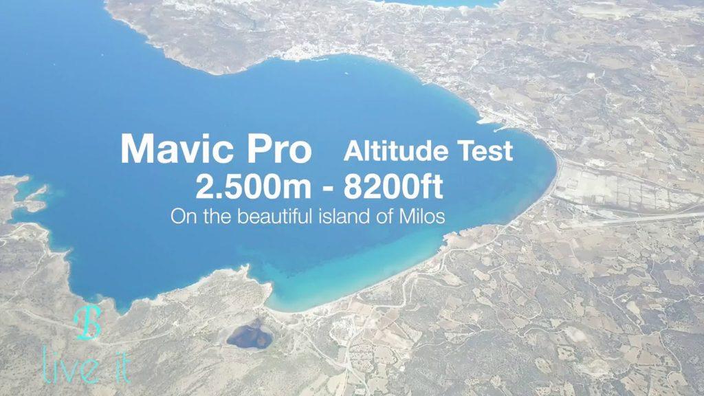 Foto aerea ripresa da DJI Mavic Pro a quota 2500 m - 8200 ft
