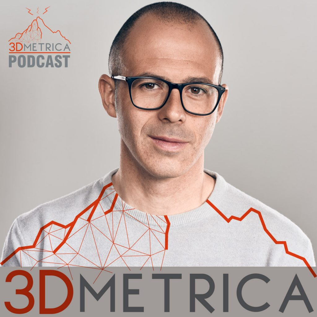 Immagine di copertina del podcast di 3DMetrica