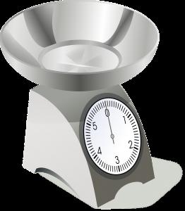 Immagine di una bilancia per la misura del peso