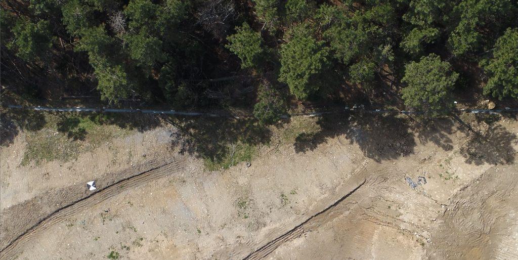 Ingrandimento di file jpg da foto aerea registrata duranto lo scatto