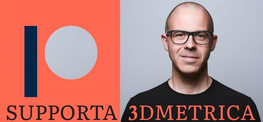 Supporta 3DMetrica diventando finanziatore