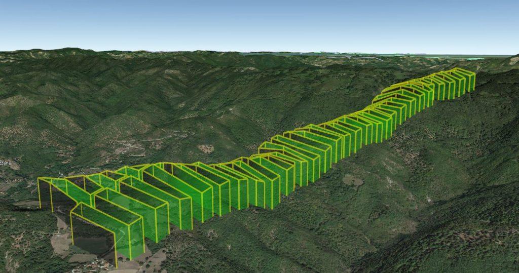 missioni di volo con UGCS Pro per rilievo aerofotogrammetrico