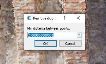 Remove Duplicate Points Tool