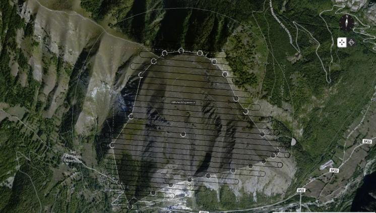 Missioni di volo per rilievo aerofotogrammetrico con Ebee