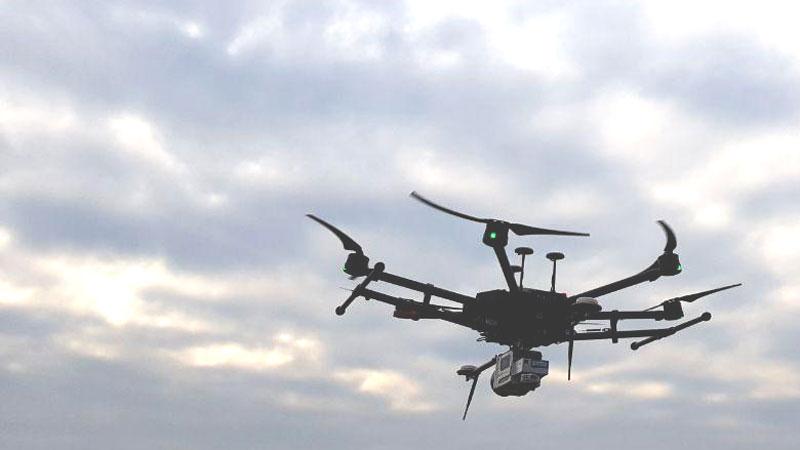 LiDAR su drone