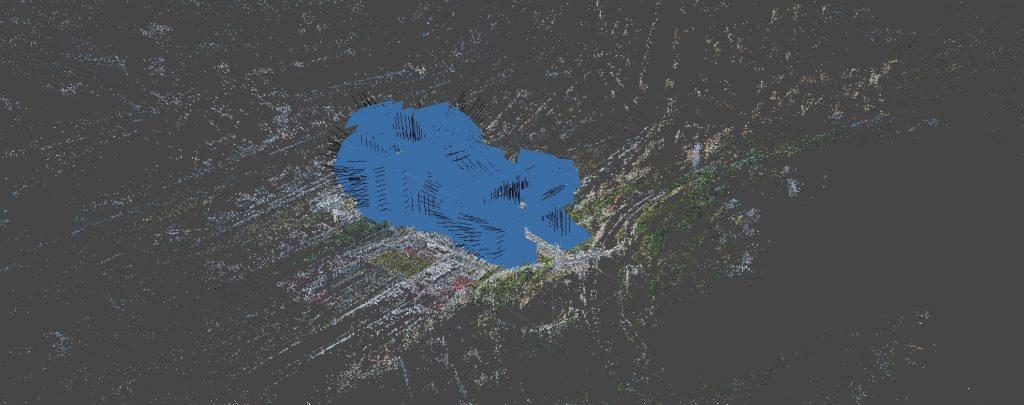 Agisoft Metashape - allineamento delle immagini e nuvola di punti sparsa.