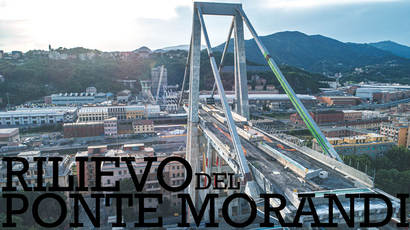 Rilievo del Ponte Morandi - immagine di copertina