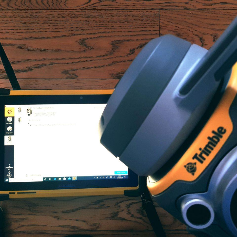 Trimble SX10 e controller T10