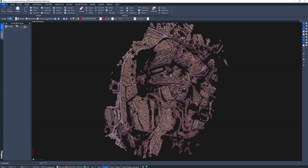 Screenshot del software Thopos