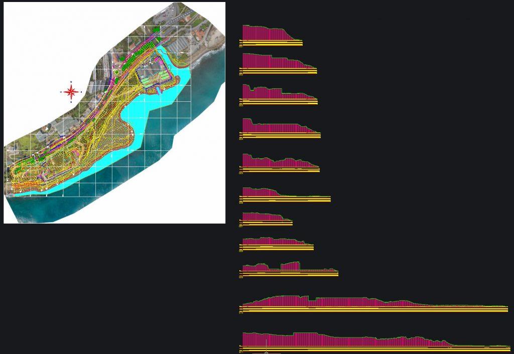 planimetria e sezioni fincate impaginate
